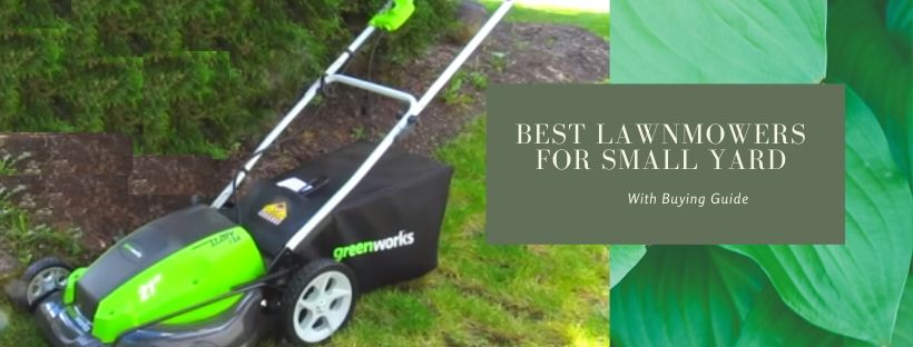 Top 8 Best Lawnmowers for Small lawns
