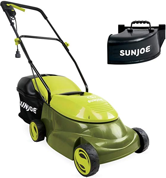 Sun Joe electric lawnmower