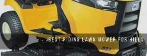 Top 5 best riding lawn mowers for hills