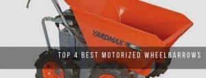 Best Motorized Wheelbarrows for lawn