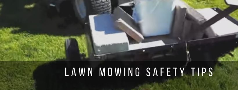 Tips to follow before and while lawn mowing