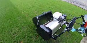 daytime lawn mowing