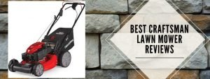 best lawn mowers of Craftsman