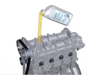 refill oil to engine